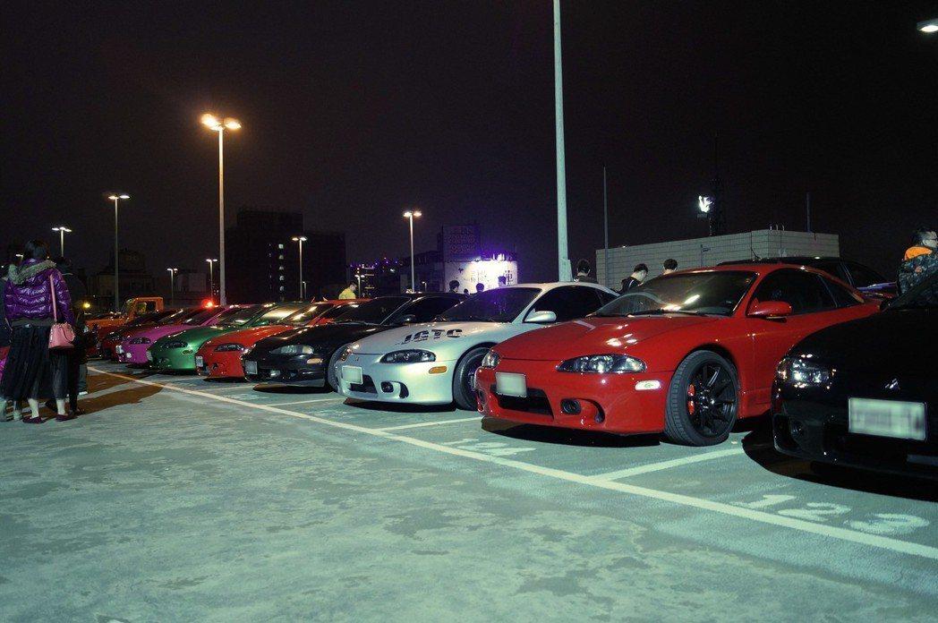 Mitsubishi eclipse。 記者趙駿宏/攝影