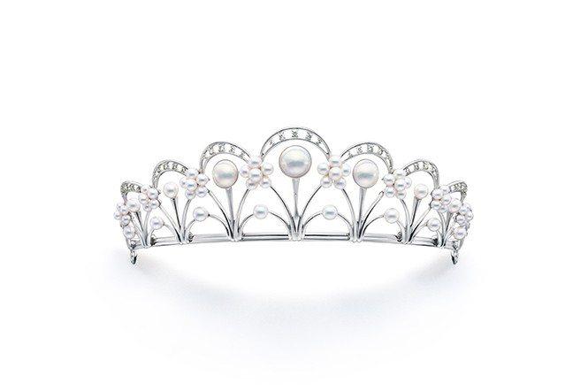 TASAKI Tiara 鑽石珍珠皇冠。(TASAKI提供)