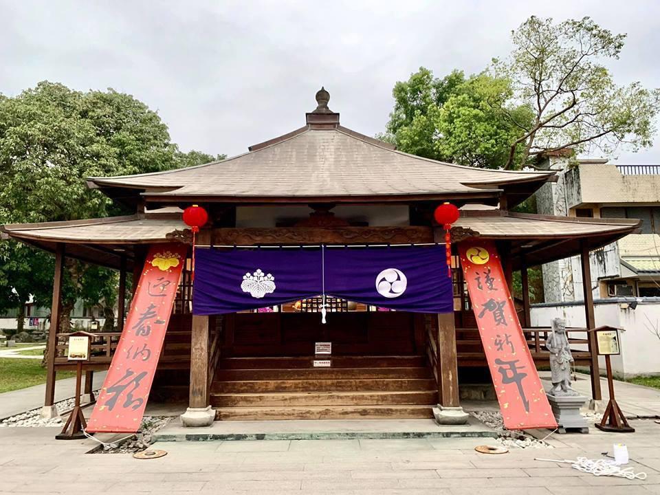 花蓮慶修院有濃濃日式風味,僅除夕休館,春節連假不打烊。記者王燕華/翻攝