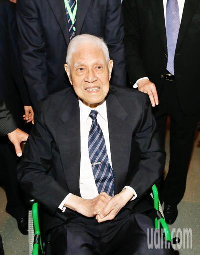 高齡96歲的前總統李登輝,跌倒住院已2個月。聯合報資料照
