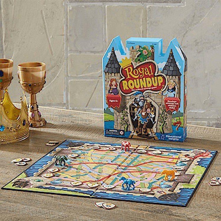 美國Educational Insights親子互動桌遊「 騎士大冒險」,售價8...