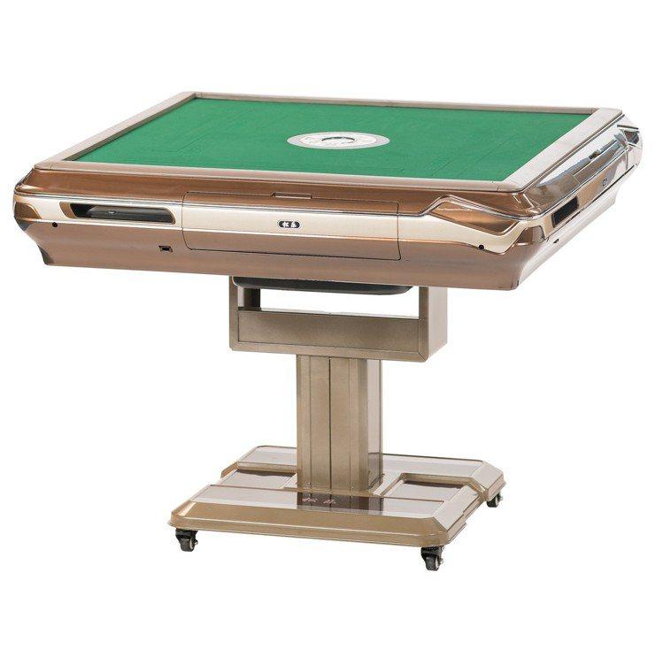 雀王S740進階款折疊電動麻將桌。圖/momo購物網提供