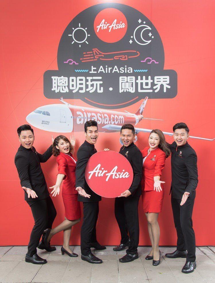 AirAsia台北飛大阪航線首航,同步推出機票1,299元起。圖/AirAsia...