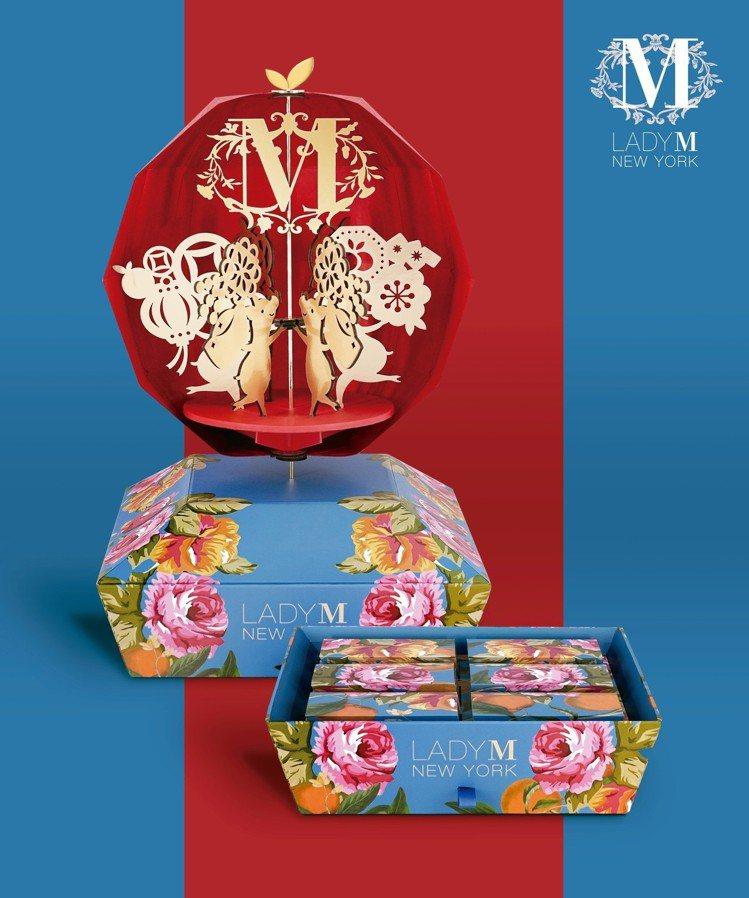 Lady M豬你好運春節禮盒,售價3,280 元。圖/Lady M提供