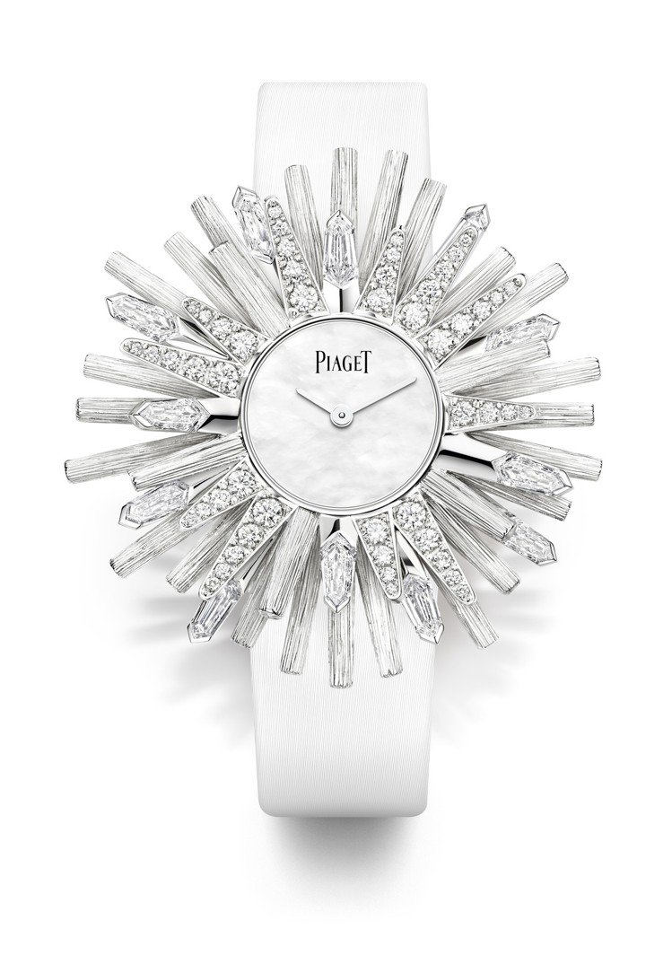Sunlight Escape系列White Sun主題手鐲腕表,476萬元。圖...