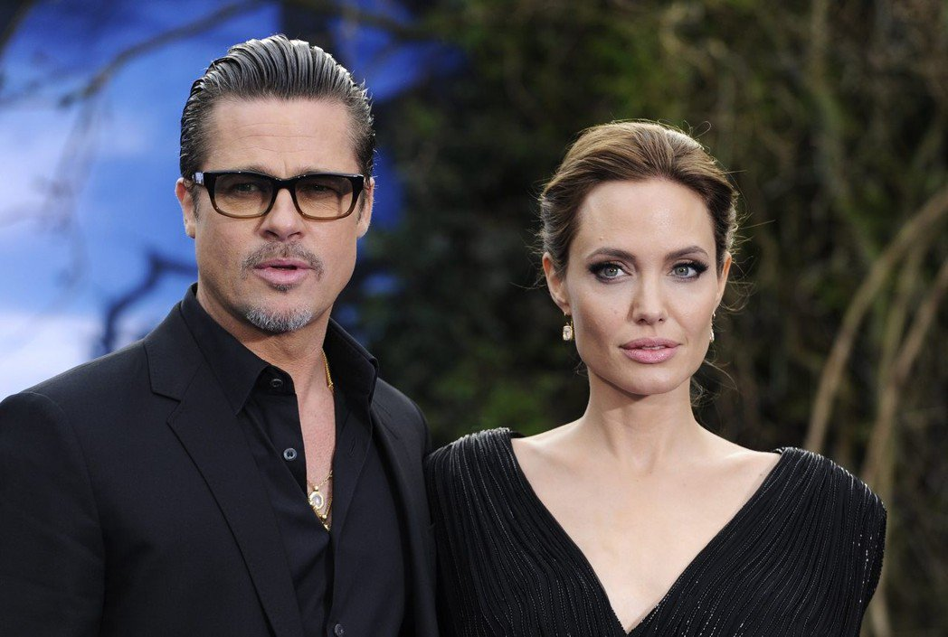 布萊德彼特與安琪莉娜裘莉離婚未正式拍板定案,波折不斷。圖/路透資料照片