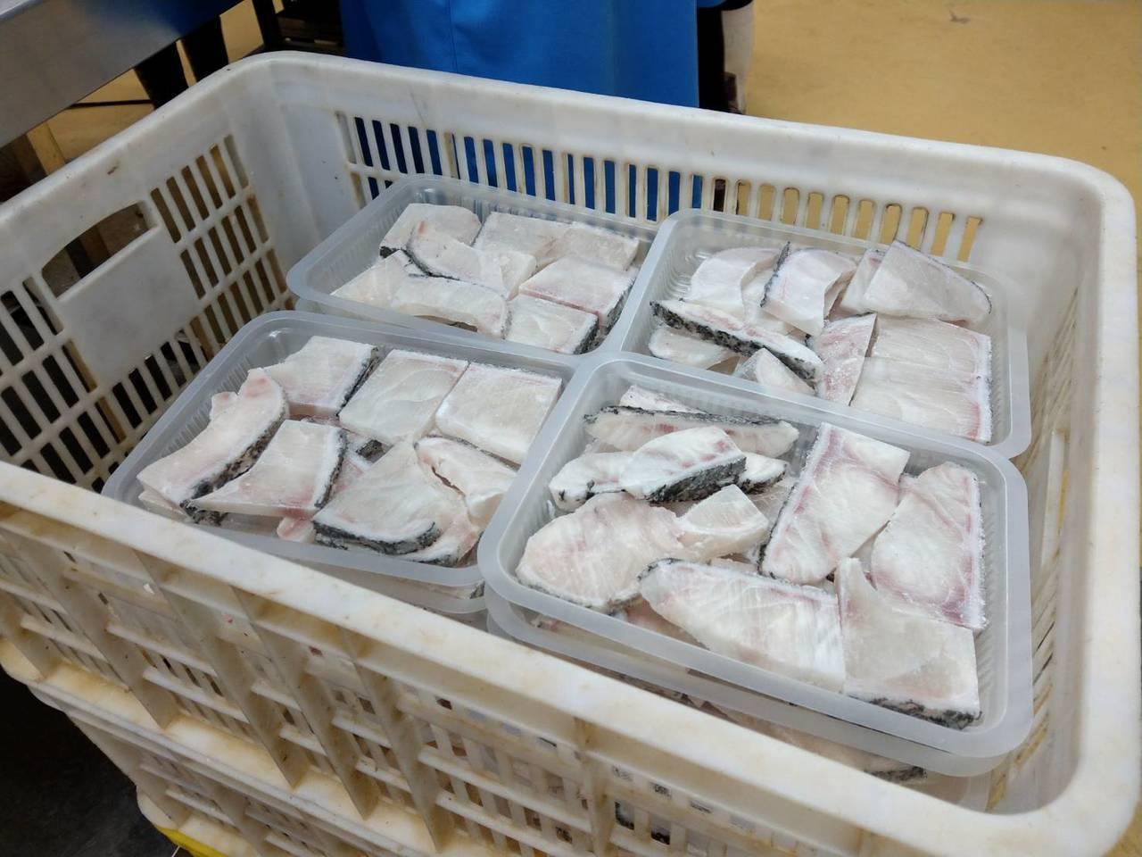 冷凍水產品主要銷往歐盟、日本與韓國。圖/市府海洋局提供