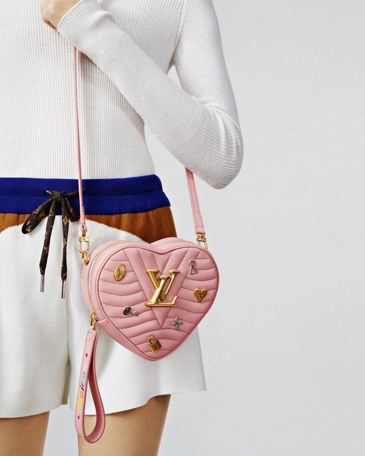 路易威登New Wave Heart Love Lock手袋,售價76,500元...