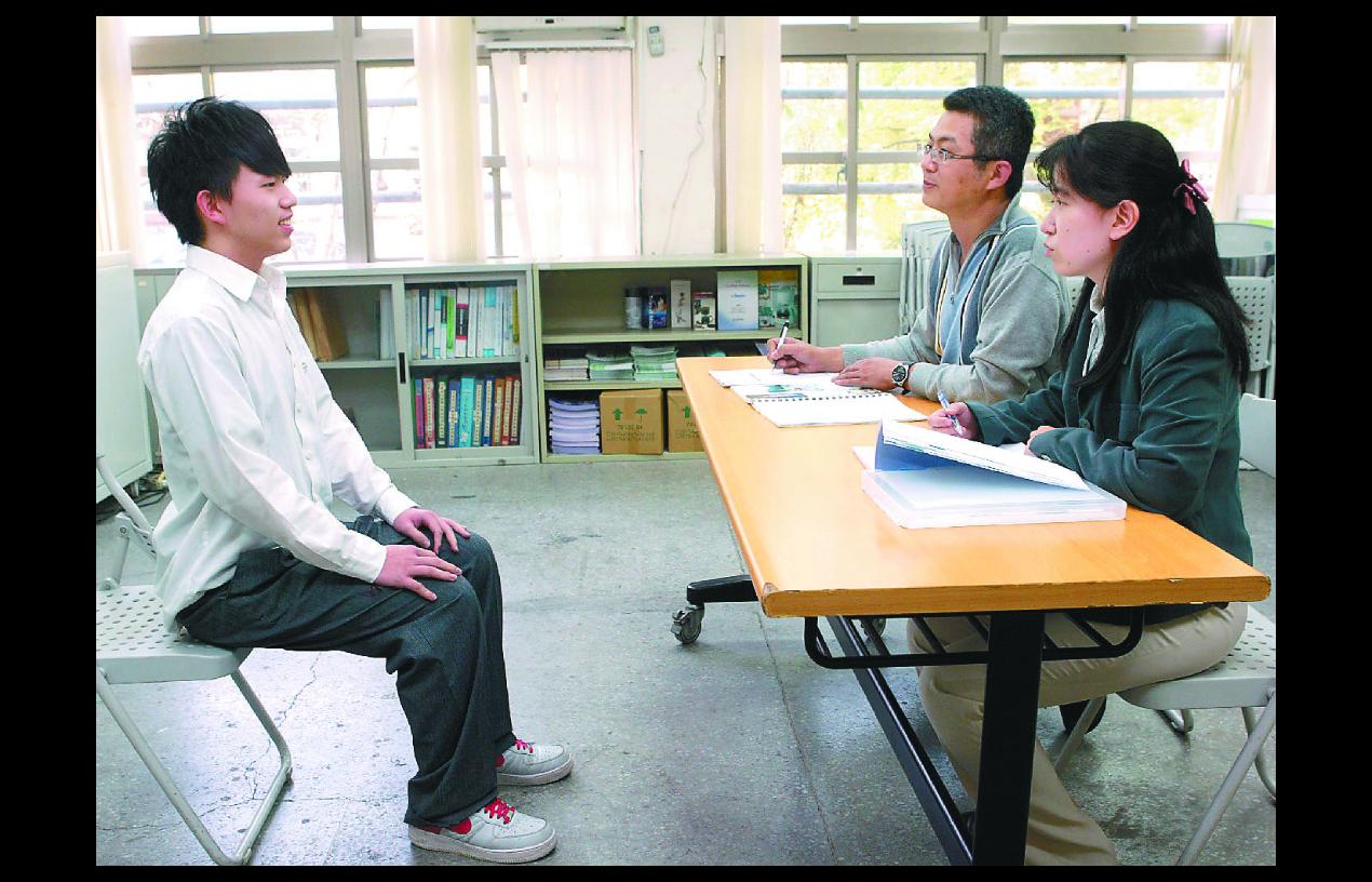 各大學將展開甄選面試,教授認為考生態度很重要。聯合報系資料照