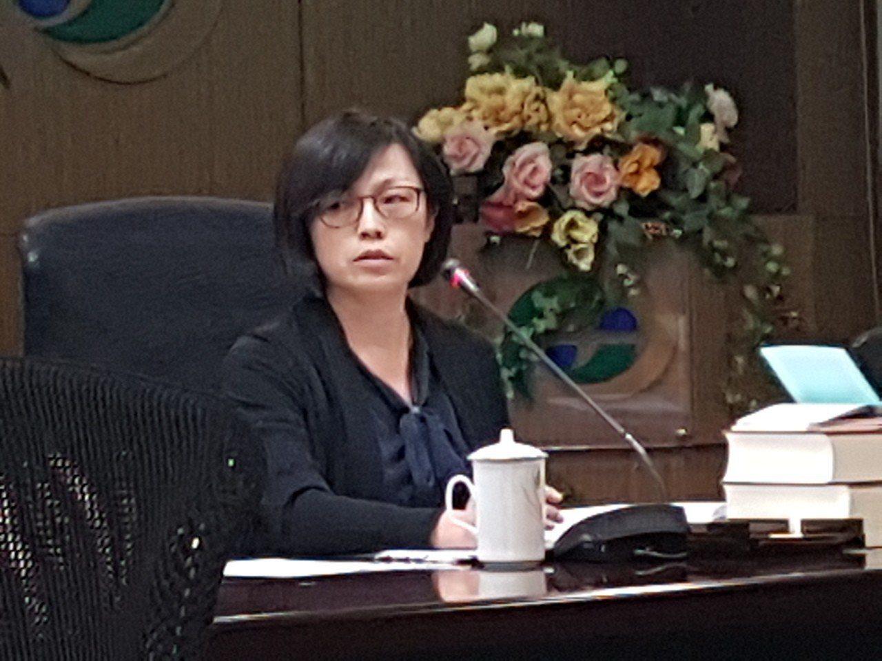 證期局前副局長周惠美。 聯合報系資料照/記者孫中英攝影