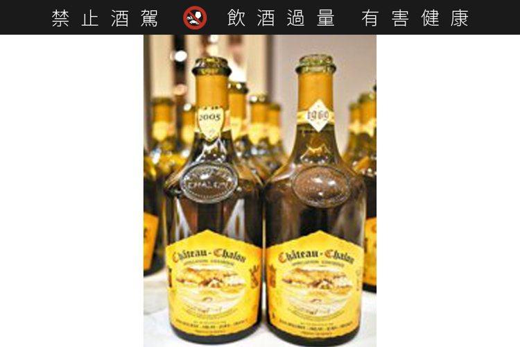 Château-Chalon是法國境內規定只能生產黃葡萄酒(Vin Jaune)...