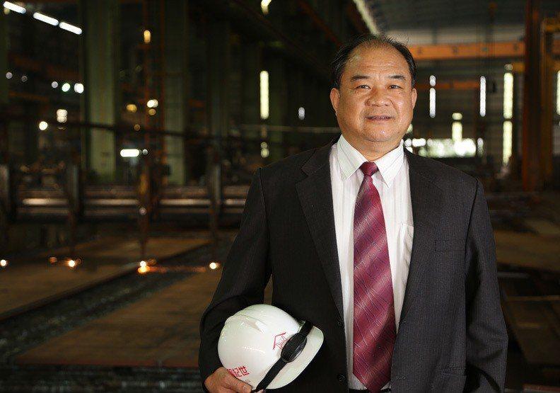 世紀鋼董事長賴文祥。圖/遠見提供