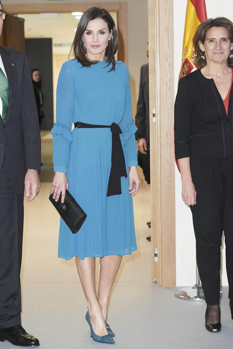西班牙蕾蒂希亞王后。圖/達志影像