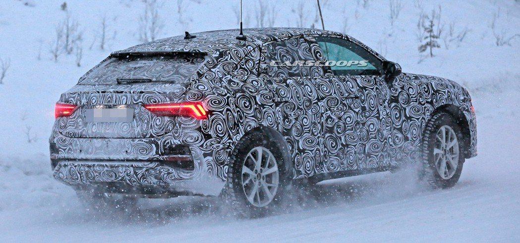 全新Audi Q4預定在今年下半年亮相。 摘自Carscoops