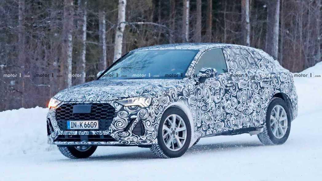 全新Audi Q4會是一款小型Coupe SUV。 摘自Motor 1