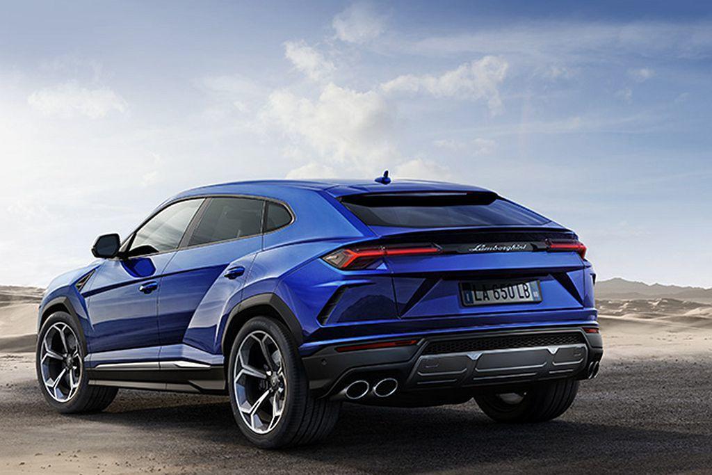 選配Off-Road Package越野套件後Lamborghini Urus進...