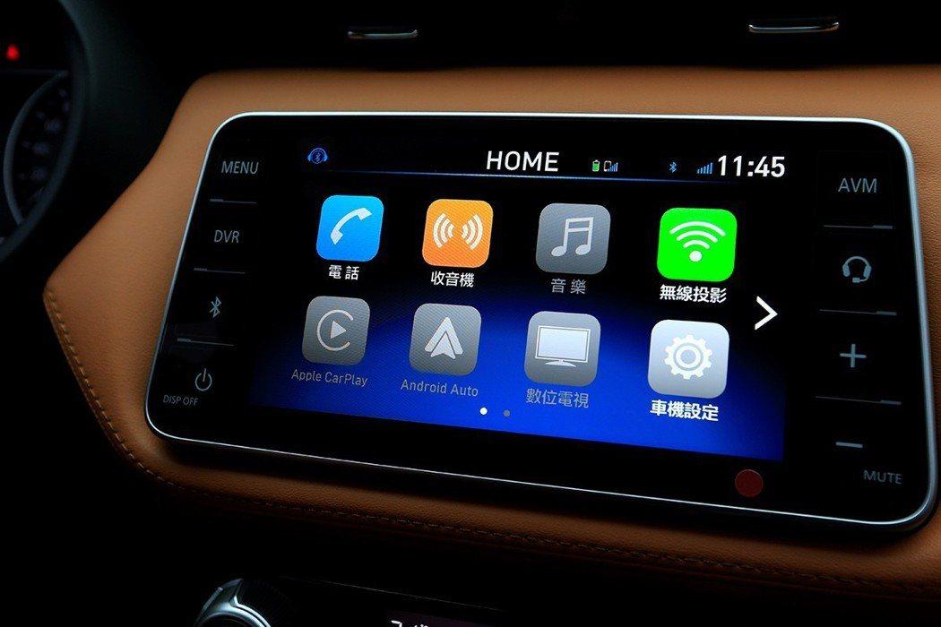 全新X-MEDIA III智慧多媒體影音主機不僅可支援Android Auto與...