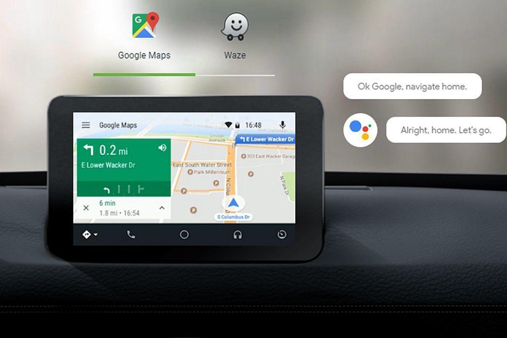 去年底已經在台灣開通的Android Auto,當中強大的Google地圖(附導...