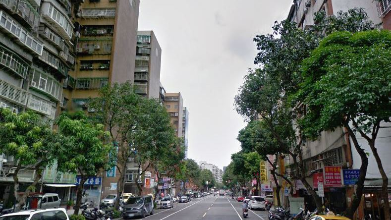 台北市中正區中華路二段。 圖/取自GOOGLE MAP