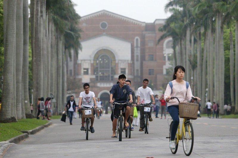 準備面試前,考生可到心儀的大學走走,了解科系需要的學生特質。本報資料照片