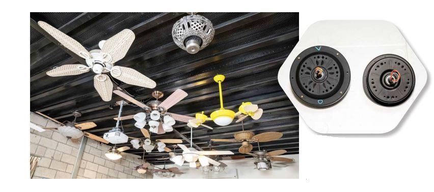 工研院與吊扇業者合作,導入大功率直流馬達技術,將傳統吊扇成功轉型成變頻省電的綠色...