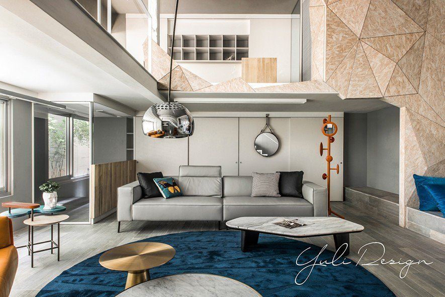 (圖)兼具機能實用與視覺美觀的設計巧思,在室內空間的劃設上展露無遺。