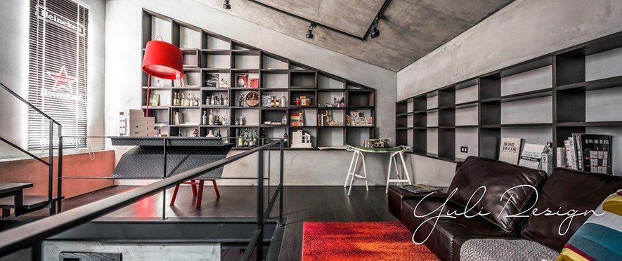 (圖)在象徵個性品味的臥室空間,設計師以鮮明元素及豐富創想圍塑專屬氛圍。