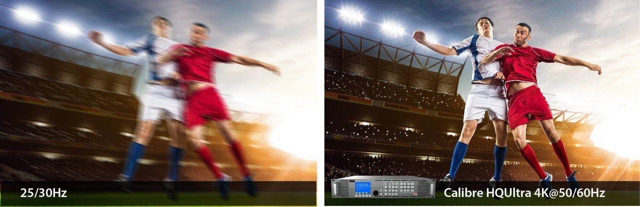 中光電子公司Calibre,以4K HQUltra嵌入式解決方案展現其高端影像處...