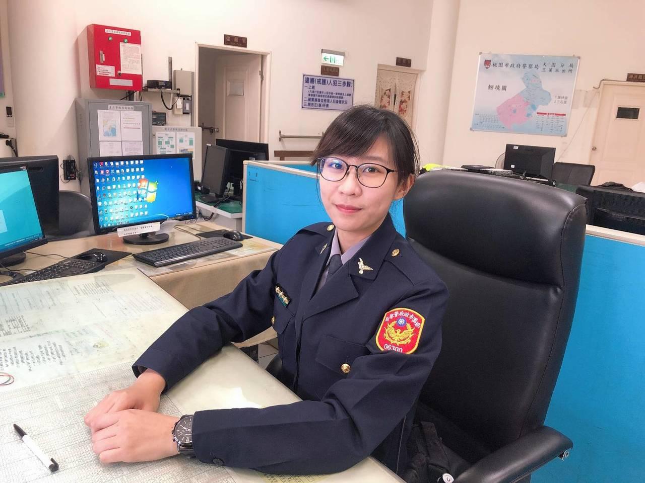 今年25歲的女警潘姿婷,畢業於高雄科技大學風險管理與保險系,因對警察工作充滿熱忱...