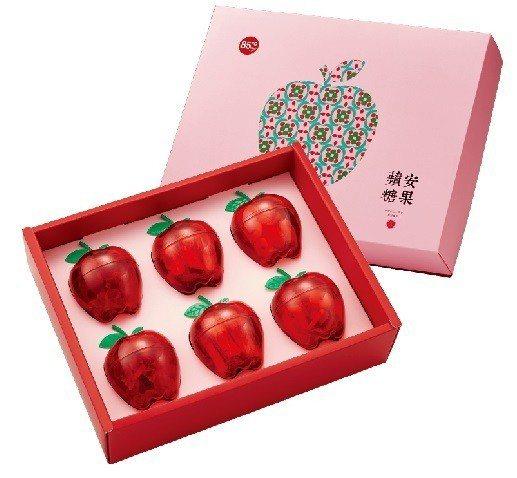 蘋安糖果禮盒。 圖/85ºC提供
