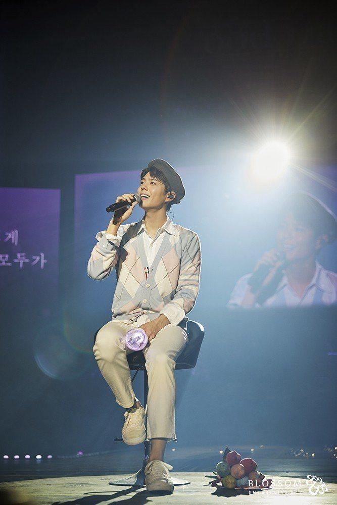 朴寶劍在首爾大展歌喉。圖/大國文化提供