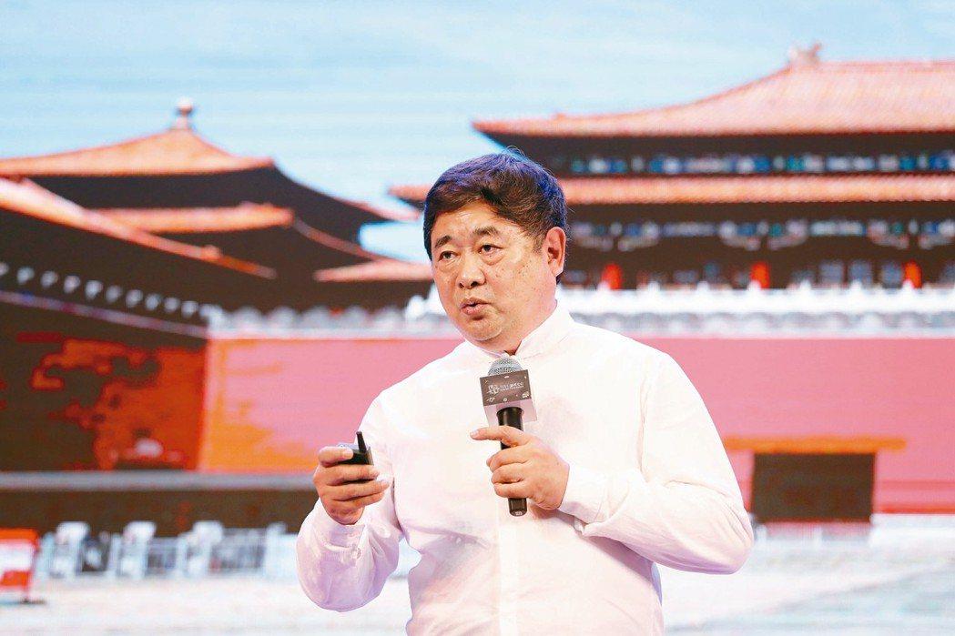 剛卸任的北京故宮院長單霽翔。 (中新社資料照片)