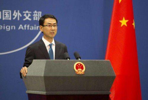 中共外交部發言人耿爽。 新浪網