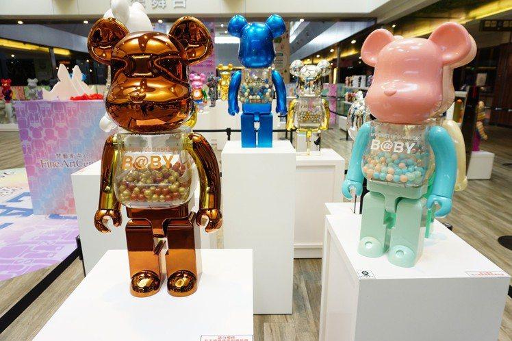 南紡購物中心舉辦庫柏力克熊大展。圖/南紡購物中心提供