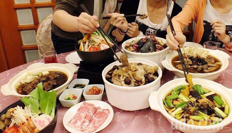 體重60公斤的成人,每日需要的熱量約1800大卡,傳統年菜常見佛跳牆、米糕、芋泥...