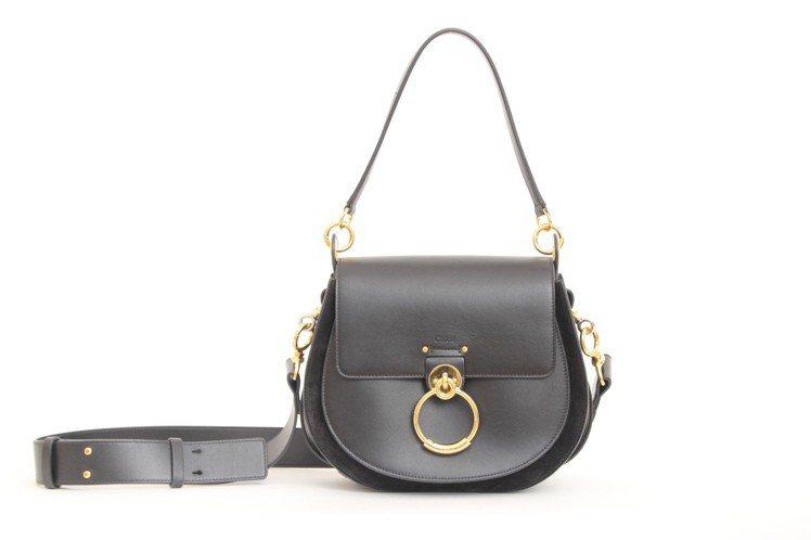 Chloé TESS黑色包款(大),售價65,700元。圖/Chloé提供