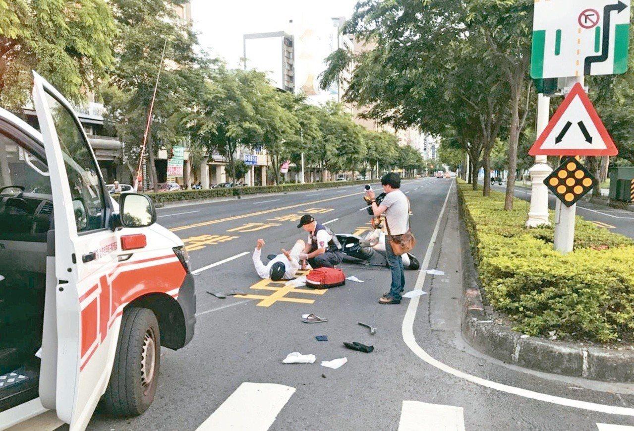 當發生車禍有人受傷,即使鑑定證明完全是對方的過失,但只要人離開現場就可能被送辦。...
