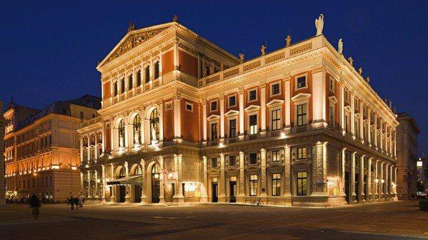 維也納愛樂金廳外觀。 圖/奧地利觀光局提供
