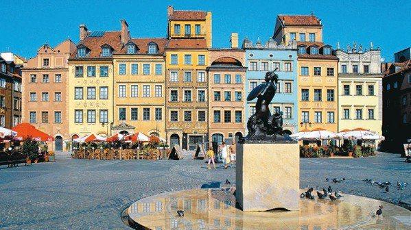 波蘭是東歐新興觀光國家,有不少文化景點可參觀。 圖/華沙商務貿易辦事處提供