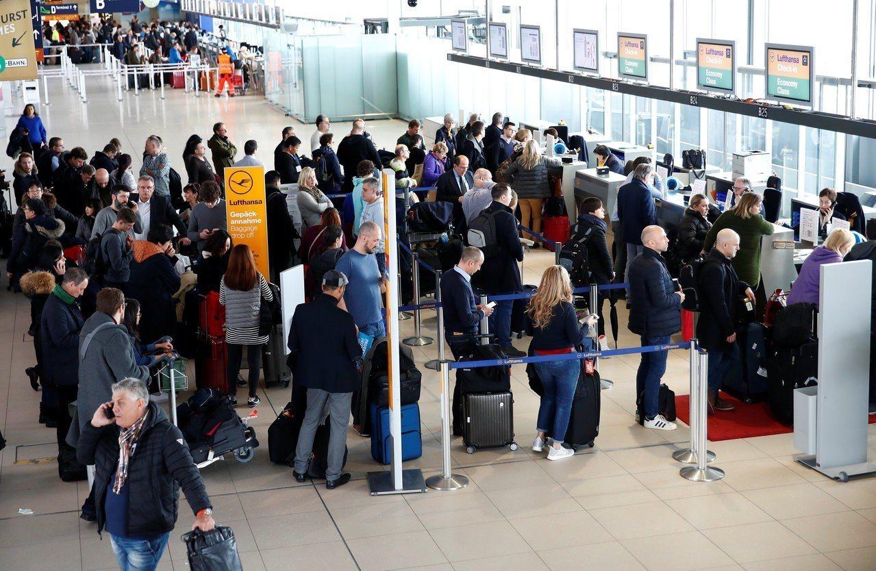 機場動線安排有玄機。路透