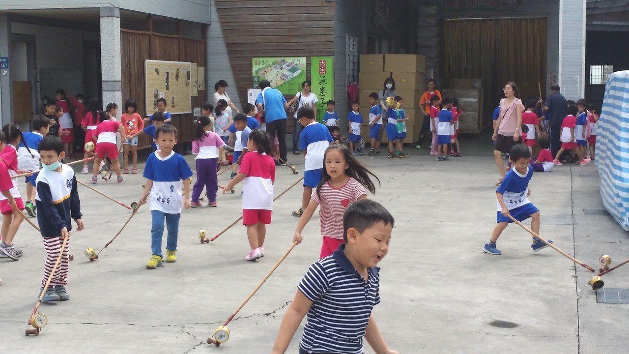 現場將展出許多傳統童玩。圖/古寶無患子生技公司提供