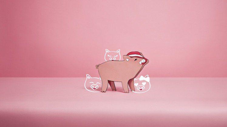今年適逢金豬年,因此來自新加坡的CHARLES & KEITH自然也大玩這樣的元...