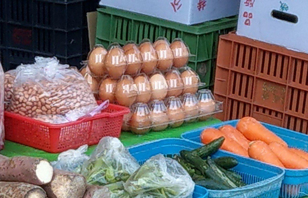 最近蛋價飆漲,菜市場一斤雞蛋85、95、120元都有人賣,價格十分混亂。記者戴永...