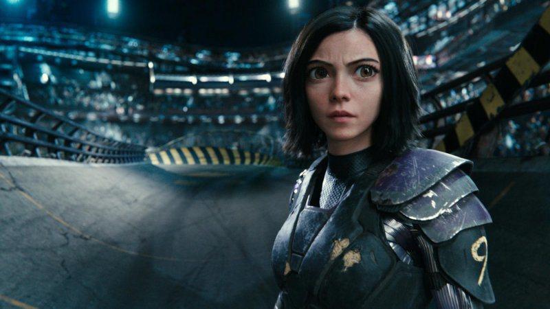 「艾莉塔:戰鬥天使」特效驚人,打造前所未見的科幻世界。圖/福斯提供