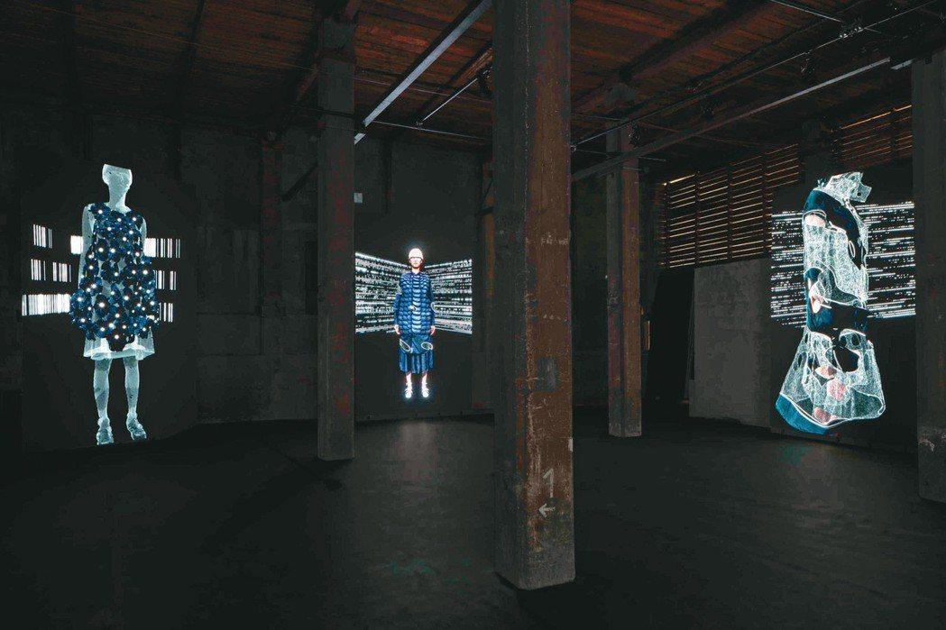 MONCLER發表的Genius系列幾乎是一場藝術策展的規模。圖/MONCLER...