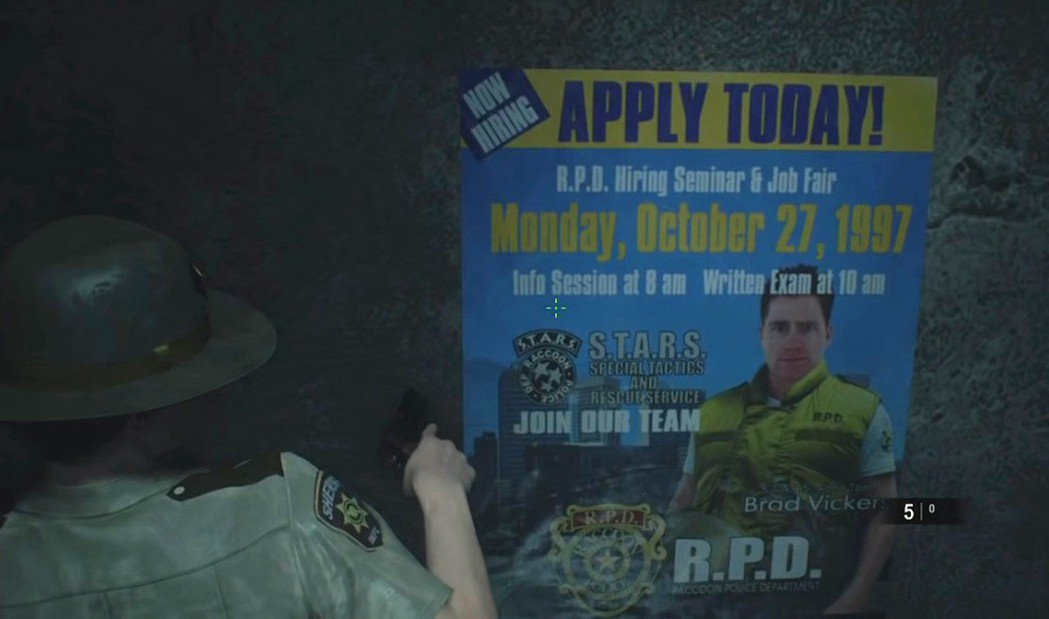 老玩家看見這張海報必定都會感到會心一笑,海報上的人正是那位膽小鬼Brad,拿他來...