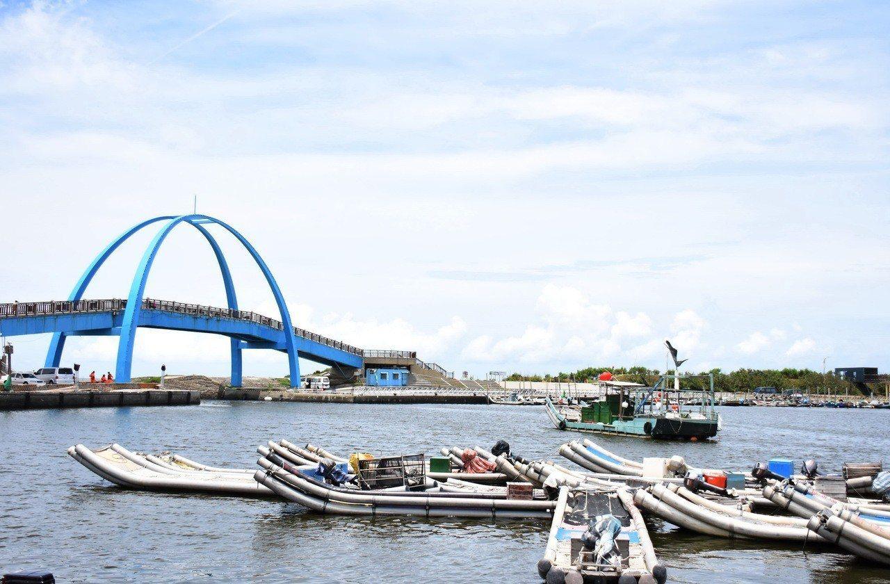 王功漁港和附近的王功海洋故事館,非常值得親子遊。聯合報資料照片