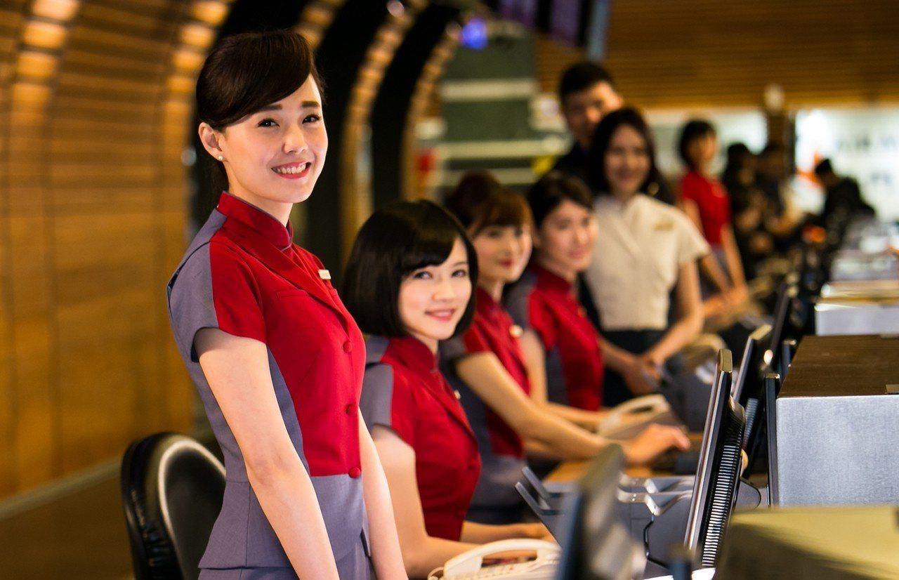 華航地勤人員。圖/中華航空提供