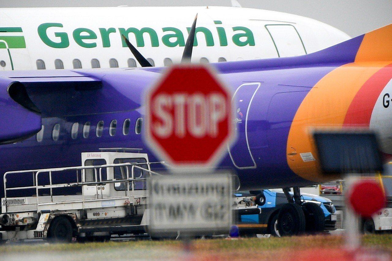 德國日耳曼尼亞航空4日聲請破產。(歐新社)