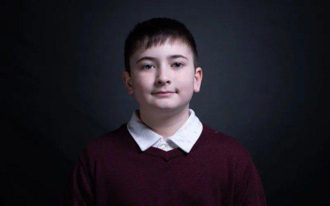 因與川普總統姓氏相同而遭霸凌的德拉瓦州11歲男童約書亞‧川普。圖/取自白宮官網